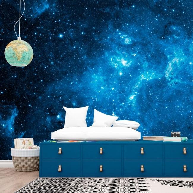Fotomurales de vinilos estrellas en el cosmos
