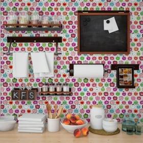 Vinilos decorativos azulejos cocinas