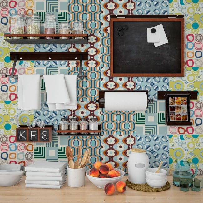 vinilos y pegatinas azulejos cocinas ForPegatinas Azulejos Cocina
