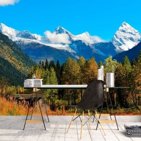 Fotomurales Canadá parque nacional Banff