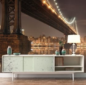 Fotomurales Nueva York puente Manhattan