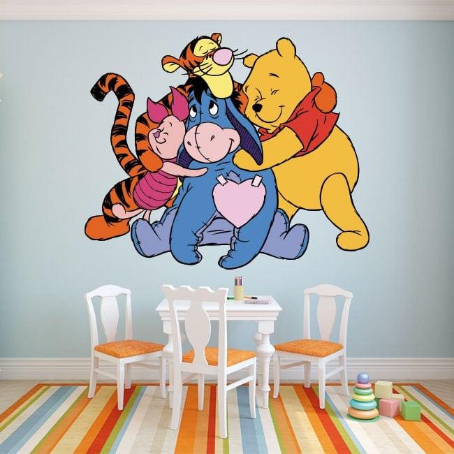 Vinilos y pegatinas infantiles winnie the pooh for Pegatinas vinilos infantiles
