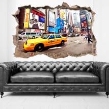 Vinilos ciudad de Nueva York 3D