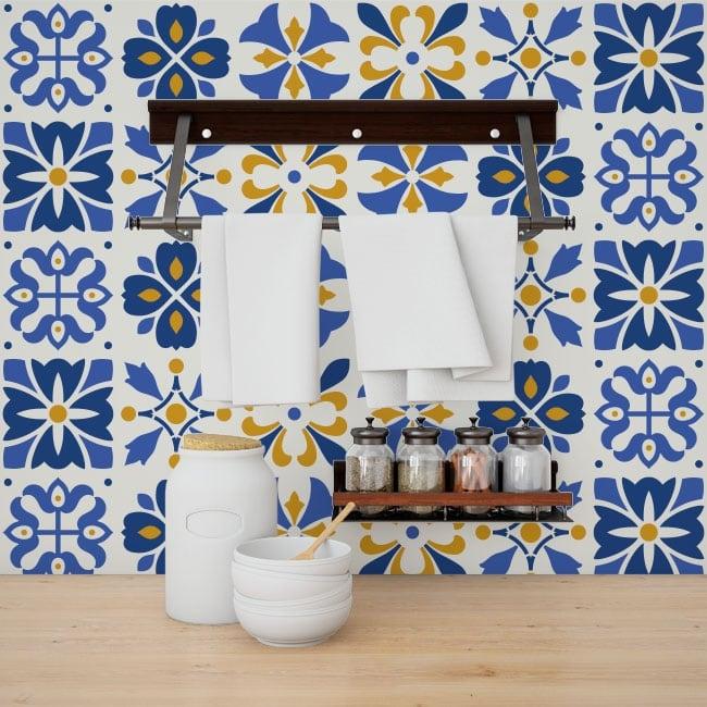 Vinilos decorativos azulejos de pared - Azulejos de vinilo ...