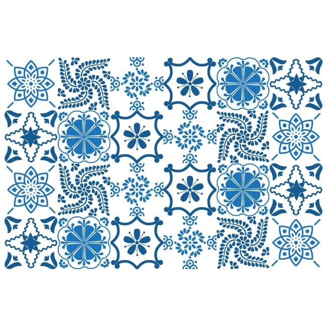 Vinilos para decorar azulejos cocinas y ba os for Vinilos azulejos de cocina