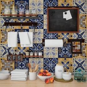 Vinilos decoración paredes azulejos