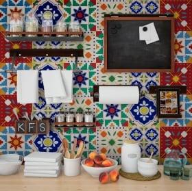 Vinilos azulejos de pared