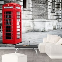Fotomurales Inglaterra cabina telefónica Londres