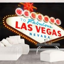 Fotomurales cartel Las Vegas