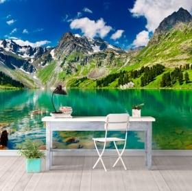 Fotomurales lago y montañas