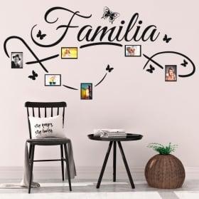 Vinilos decorativos fotos familia