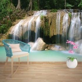 Fotomurales cascadas Tailandia