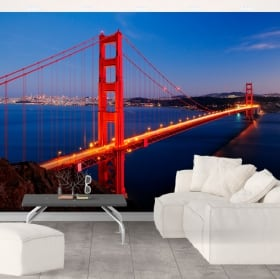 Fotomurales puente Golden Gate