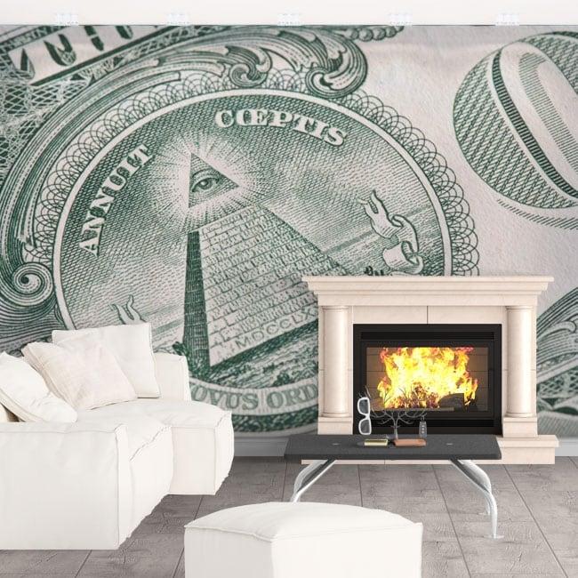 Fotomurales Dólar Estadounidense