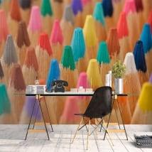 Fotomurales lápices de colores