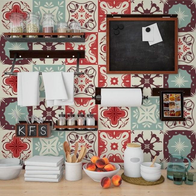Vinilos decorativos para azulejos for Vinilos pared azulejos