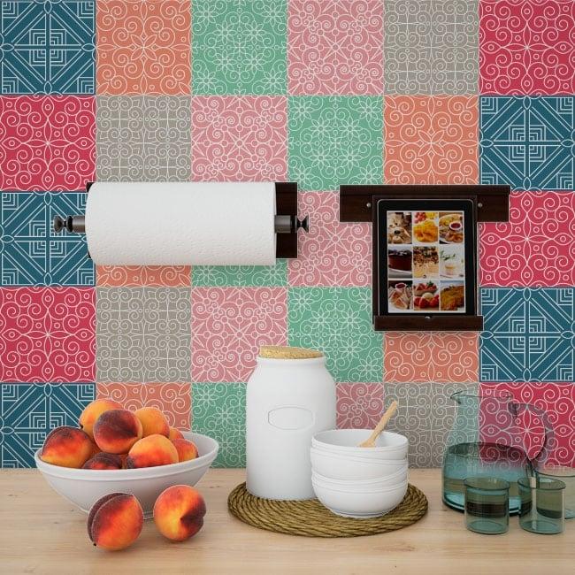 Vinilos azulejos adhesivos de pared