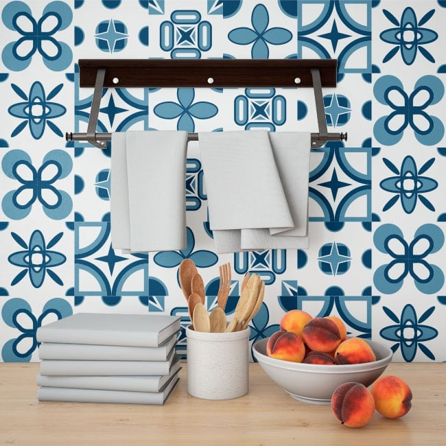 Pegatinas de vinilos azulejos paredes - Pegatinas para azulejos ...