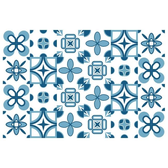 Pegatinas de vinilos azulejos paredes for Vinilos pared azulejos