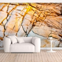Fotomurales de vinilos roca de la costa
