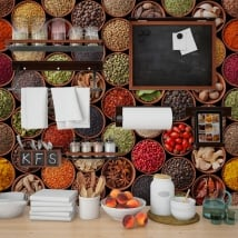 Fotomurales cocinas condimentos