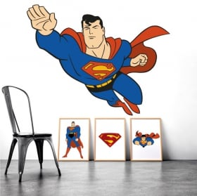 Vinilos decorativos superman