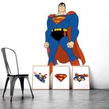 Vinilos y pegatinas de superman