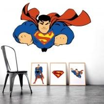 Vinilos adhesivos y pegatinas superman