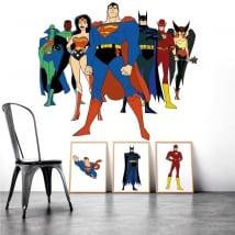 Vinilos decorativos superhéroes