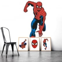 Vinilos decorativos paredes spiderman