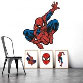 Pegatinas y vinilos spiderman