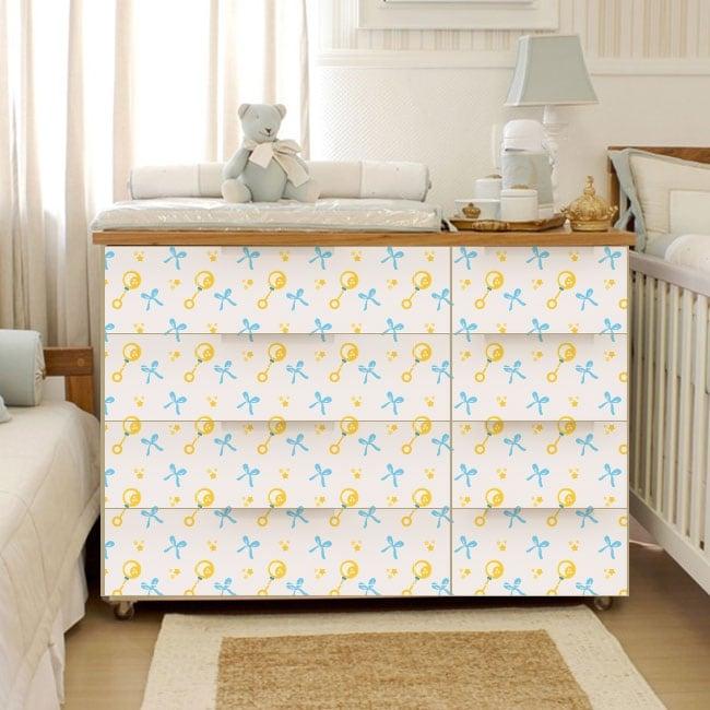 Vinilos para decorar muebles de beb for Vinilos para muebles