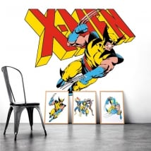 Vinilos decorativos x-men
