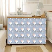 Vinilos bebé muebles y cómodas