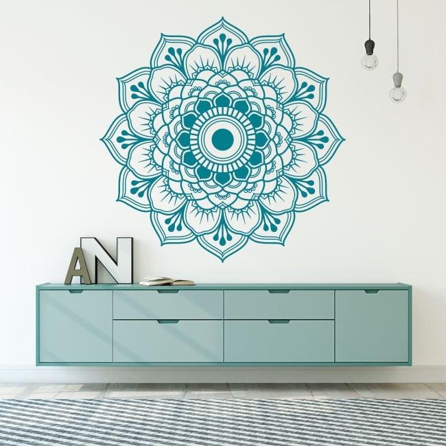 Vinilo decorativo mandala pared