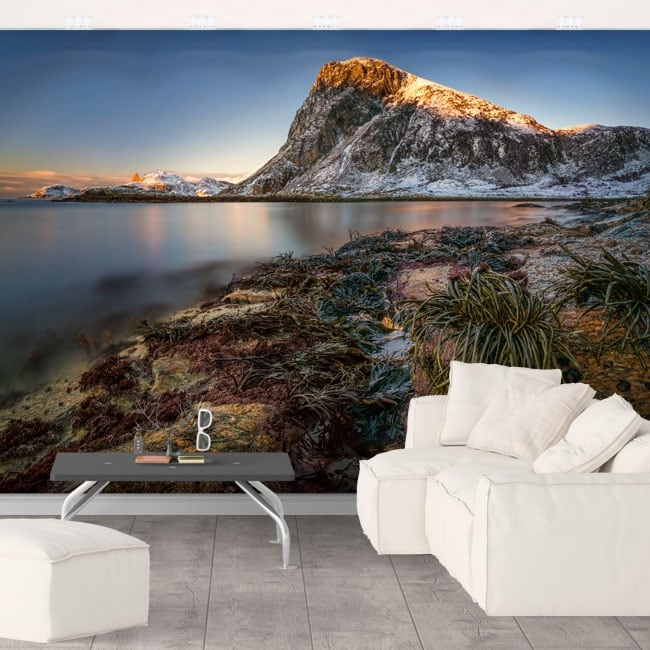 Fotomurales islas lofoten noruega