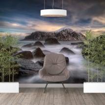 Fotomurales vinilos paredes islas lofoten noruega