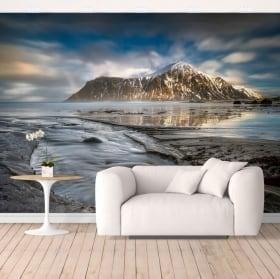 Fotomural de vinilo islas lofoten noruega