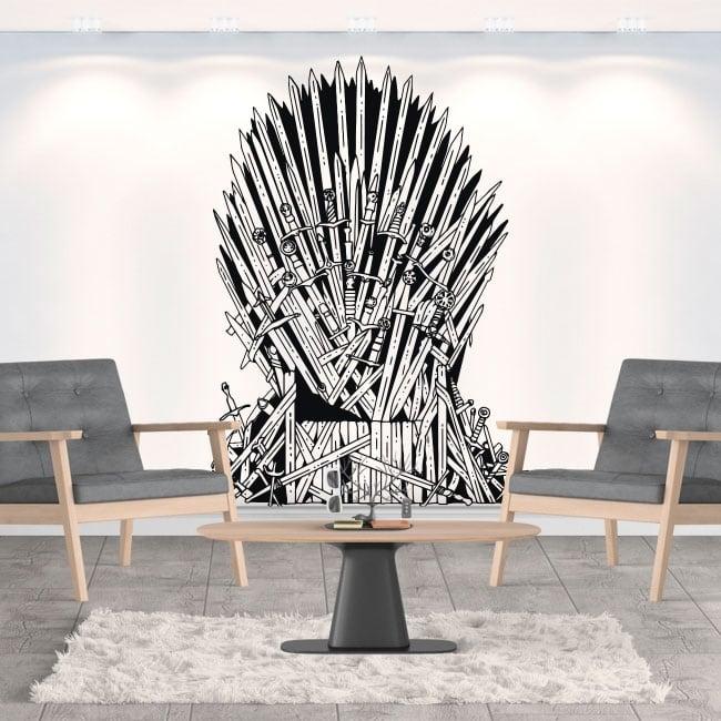 Vinilo de pared juego de tronos