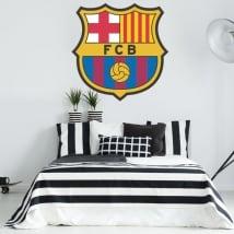 Vinilos fútbol club barcelona escudo
