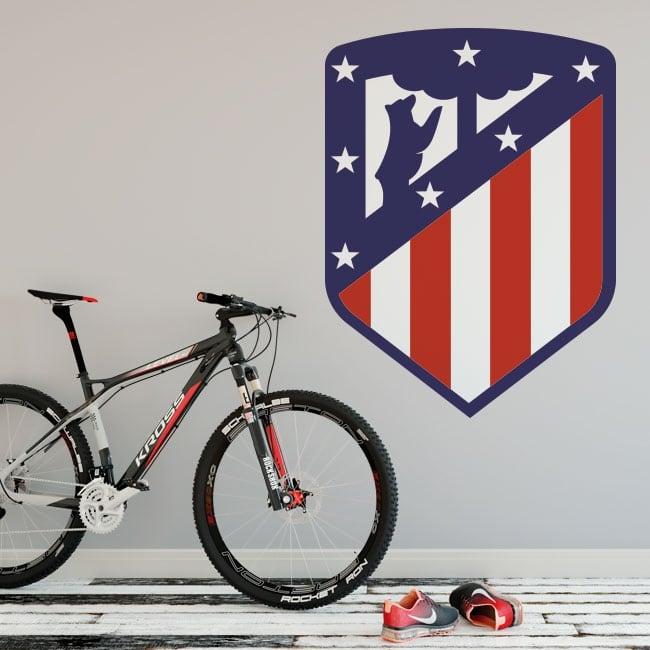 Vinilos club atlético de madrid escudo