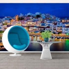 Fotomurales grecia ágios nikolaos isla de creta