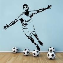 Vinilos fútbol cristiano ronaldo