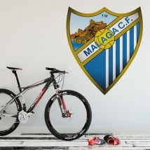 Vinilos escudo málaga club de fútbol