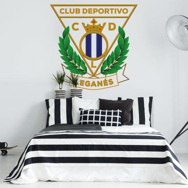 Vinilos fútbol club deportivo leganés escudo