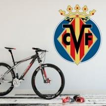 Vinilos escudo villarreal club de fútbol