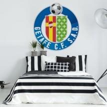 Vinilos escudo getafe club de fútbol