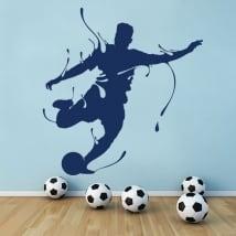 Vinilos decorativos fútbol splash