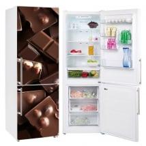 Vinilos neveras y frigoríficos chocolates