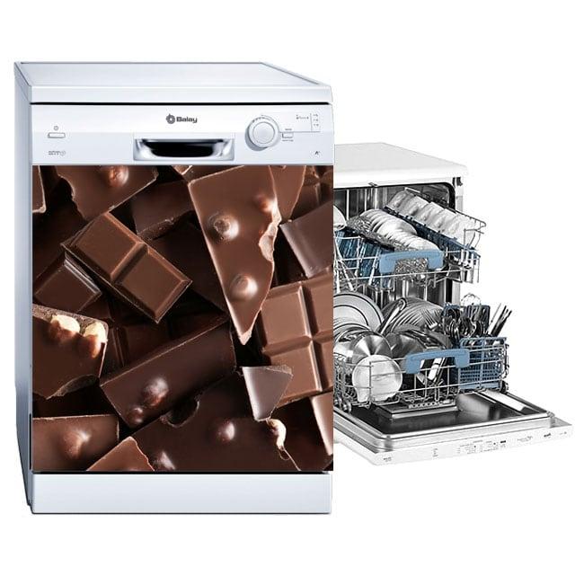 Vinilos decorativos lavavajillas chocolates